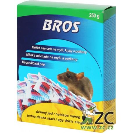 BROS - měkká návnada 250g