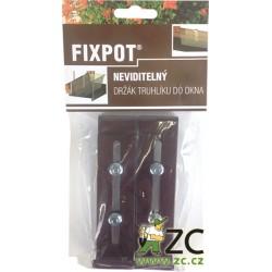 Držák na truhlík parapet Fixpot (2 ks) H