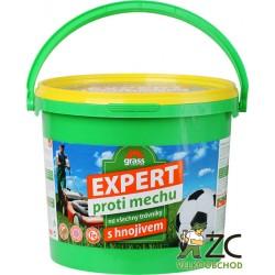 Hnojivo trávnikové - proti mechu 10 kg