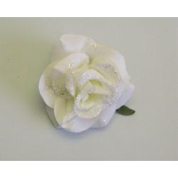 Růže klips smetanová