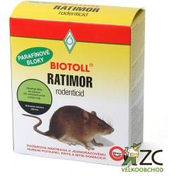 Ratimor parafin. bloky 250g