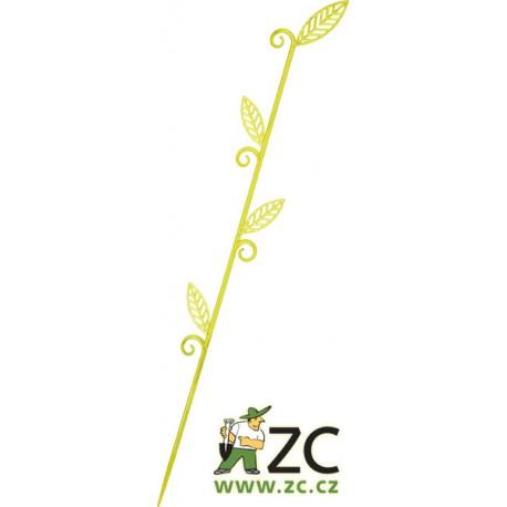 Tyčka k orchidejím - list 60cm zelenkavá
