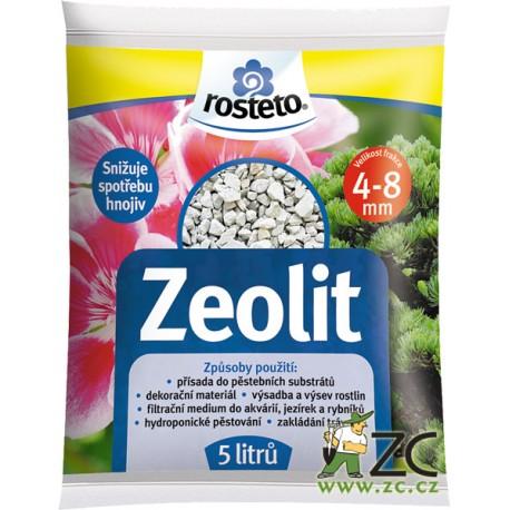 Zeolit Rosteto 4-8 mm  5l