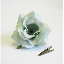 Klips růže zelená