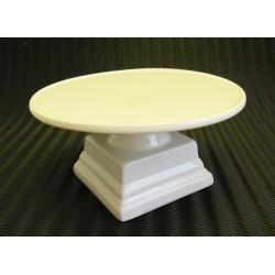 Dortový podnos bílý 20x10 cm