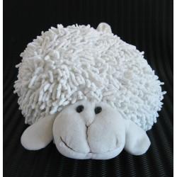 Plyšová ovce 20 cm bílá