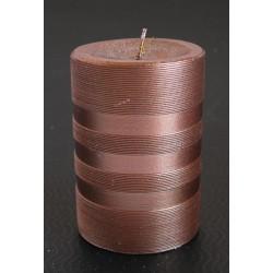Svíčka lesklá proužek 7x10 cm