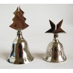 Zvonek hliníkový sříbrný držák menu 4x8