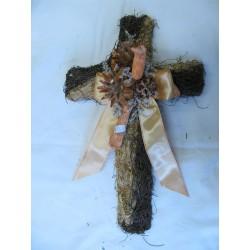 Kříž proutí 40 cm