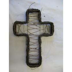 Kříž proutí 30 cm