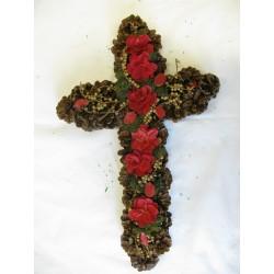 Kříž šiškový 60 cm