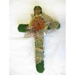 Kříž mech 50 cm