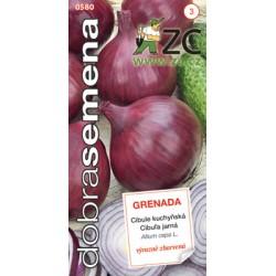 Cibule jarní červená Grenada  DS