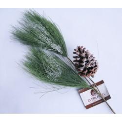 Větvička borovice se šiškou 70 cm