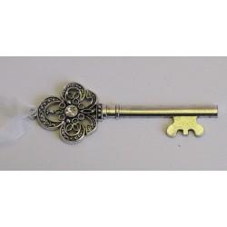 Klíček kov stříbrný