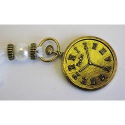 Kov. hodinky závěs