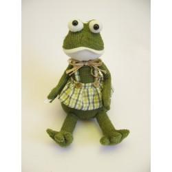 Žába textil velká