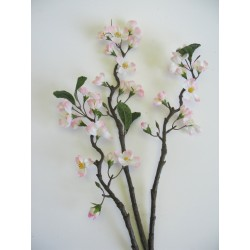 UK jabloň větev bílá 90 cm