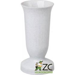 Váza hřbitovní Kalich Granit - těžké dno