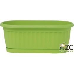 Truhlík Similcotto mini s miskou zelený